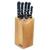 Bloc 5 couteaux + ciseaux Universal