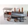 Porte bouteille métal décor locomotive