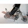 Porte bouteille métal décor moto