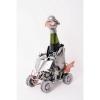 Porte bouteille métal décor Quad