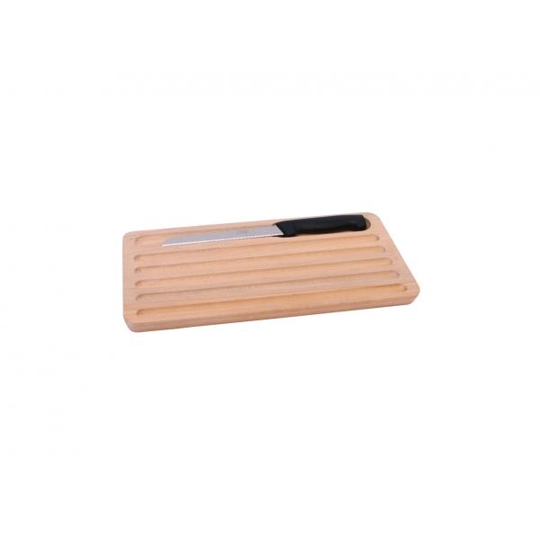 Planche à pain avec couteau