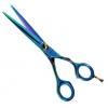 Ciseaux coiffeur à poussette titane